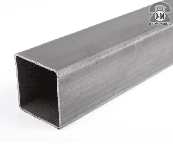 Профильные стальные трубы 60*60 2 мм 3 м резка