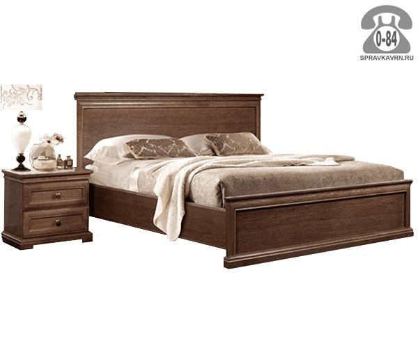 Кровати Гомельдрев, ОАО Камелия 2-спальная дуб 1-ярусная (одноярусная) 2072 мм 984 мм 1794 мм Белоруссия