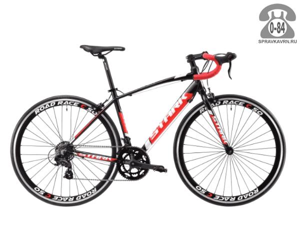 """Велосипед Старк (Stark) Peloton 700.1C (2017) размер рамы 18.5"""" черный"""