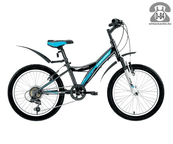 """Велосипед Форвард (Forward) Dakota 20 2.0 (2017) размер рамы 10.5"""" черный"""
