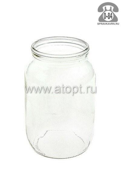 Банка стеклянная СКО-1-82 стандартная 0.95 л