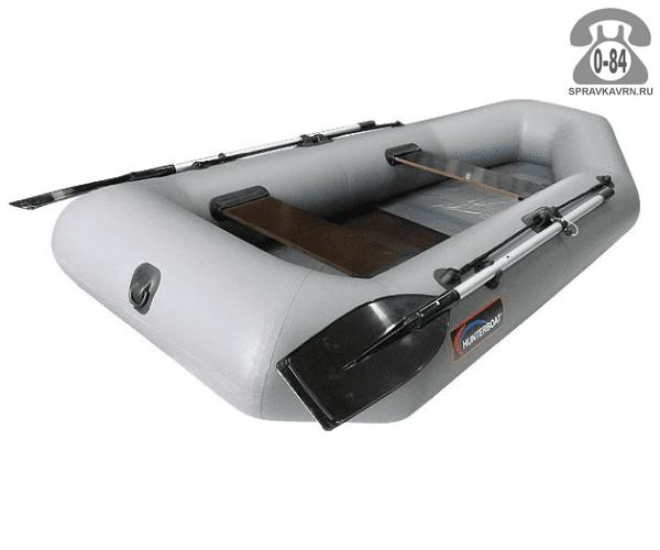 Лодка надувная Hunterboat Хантер 250 М, серый 250012
