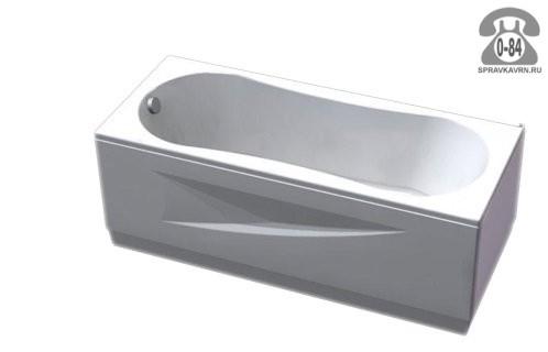 Ванна Акватек (Aquatek) Альфа 150х70 250 л