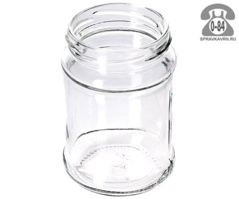 Банка стеклянная Твист-66 кубик 0.25 л