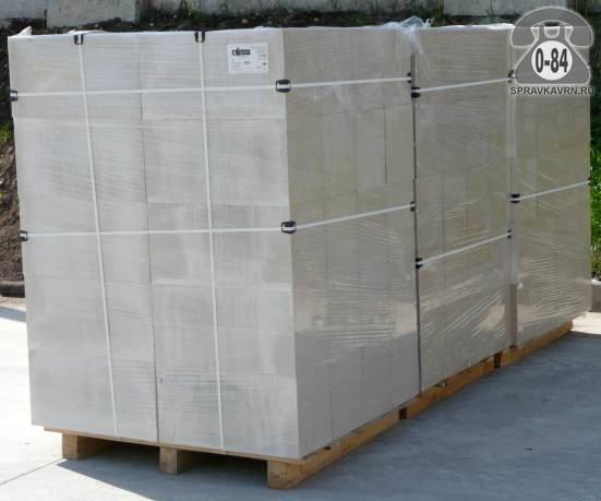 Блок газосиликатный 600 мм 250 мм 200 мм