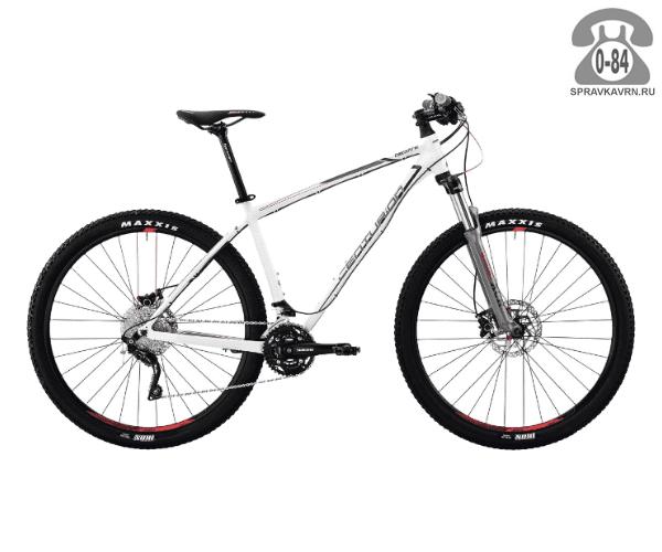 "Велосипед Центурион (Centurion) Backfire Pro 400.27 (2017) размер рамы 15.5"" белый"
