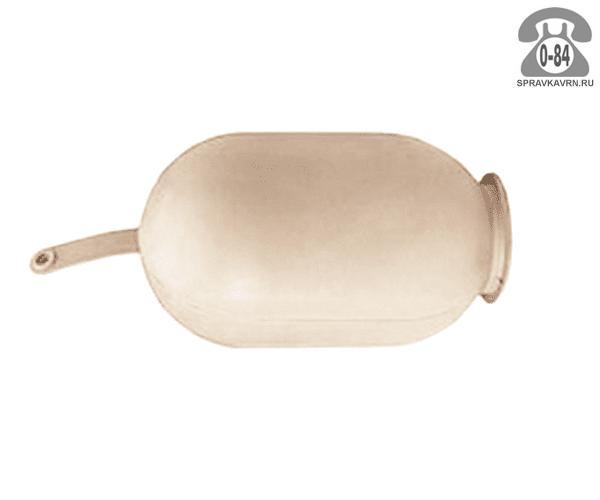 Мембрана для бака для систем водоснабжения 50 л резина белая
