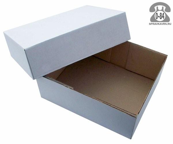 Коробка упаковочная Таракомплект картон гофрированный (гофрокартон, гофрокороб) обувная