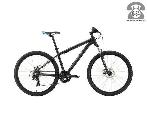"Велосипед Сильвербэк (Silverback) SLADE 5 (2016), рама 16.5"" размер рамы 16.5"" черный"