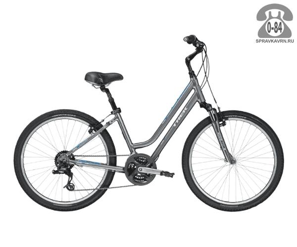 """Велосипед Трек (Trek) Shift 2 WSD (2016), рама 19.5"""", серый размер рамы 19.5"""" серый"""