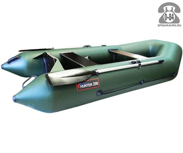 Лодка надувная Hunterboat Хантер 290 ЛК, зеленый 290091