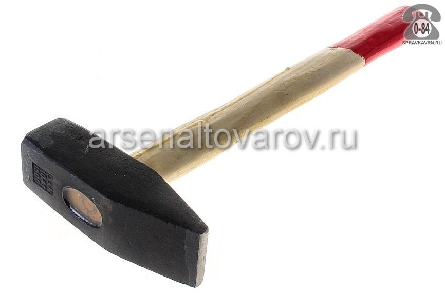 молоток слесарный 1000 г деревянная ручка Хардакс (38-2-310)