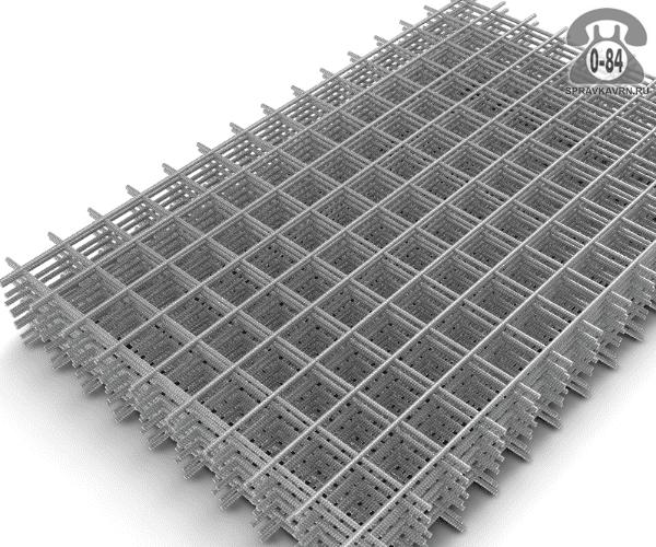 Сетка строительная сварная сталь нержавеющая 2.6 мм 110 мм 100 мм