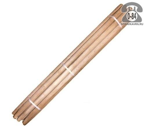 Черенок бук для лопаты 1200 мм 38 мм высший шлифованная Россия