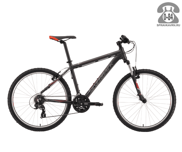 "Велосипед Сильвербэк (Silverback) STRIDE SPORT (2016), рама 22.5"" размер рамы 22.5"" черный"