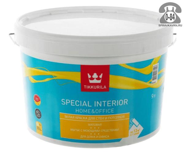 Краска, эмаль Тиккурила (Tikkurila) Special Home&Office 18039499