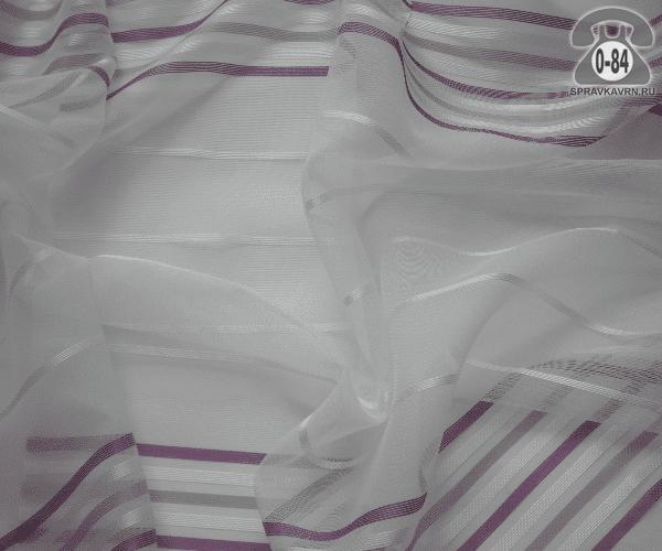 Тюль лёгкая прозрачная для штор АК 60427/06