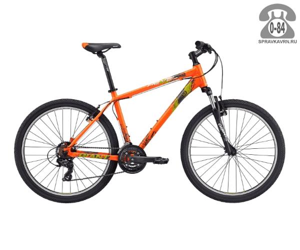 """Велосипед Джайнт (Giant) Revel 2 (2017), рама 20.5"""", оранжевый размер рамы 20.5"""" оранжевый"""