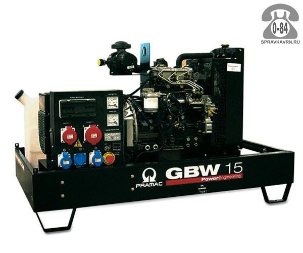 Электростанция Прамак (Pramac) GBW 15 P двигатель Perkins