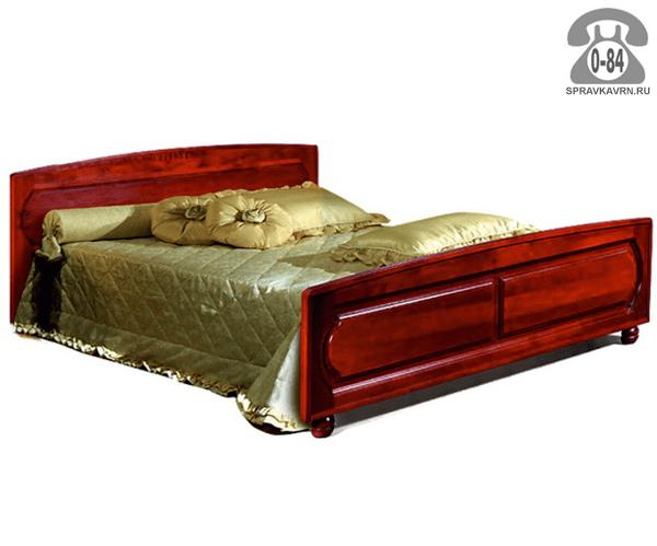 Кровати Гомельдрев, ОАО Купава 2-спальная ольха 1-ярусная (одноярусная) 2090 мм 705 мм 1488 мм Белоруссия