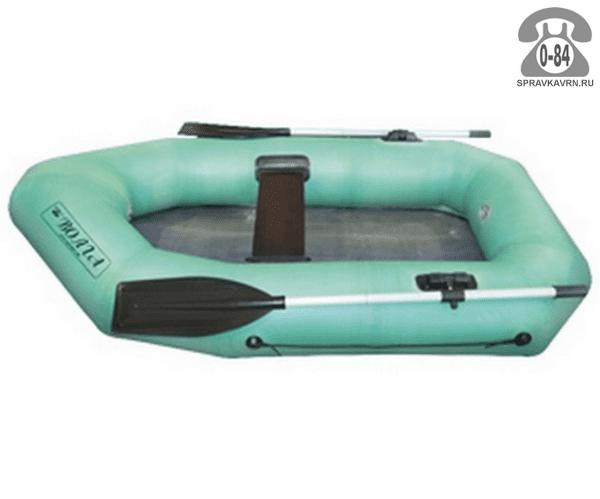 Лодка надувная гребная резиновая