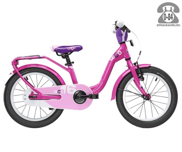 Велосипед Скул (Scool) niXe 16 (2016), розовый