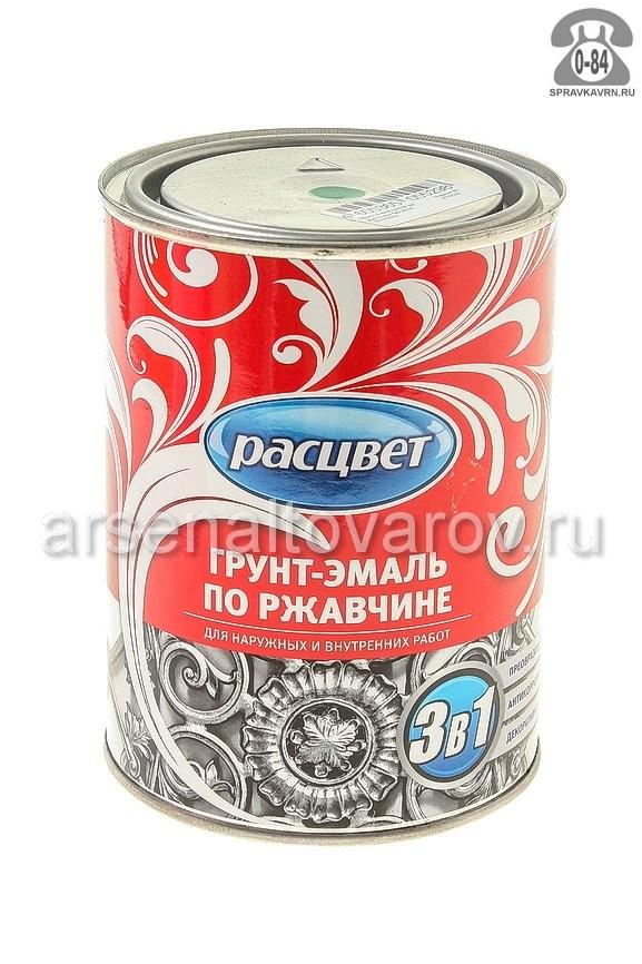 Грунт-эмаль Расцвет алкидно-уретановая 0.9 кг серый г. Ростов-на-Дону