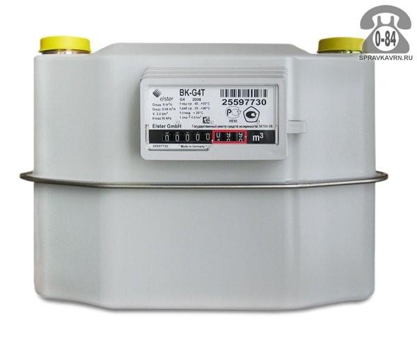 Счётчик газа Эльстер BK-G4T с левой резьбой