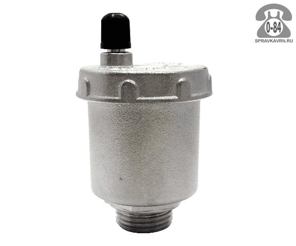 """Воздухоотводчик автоматический для радиатора отопления Итап (Itap) 3/8"""" прямое подключение"""