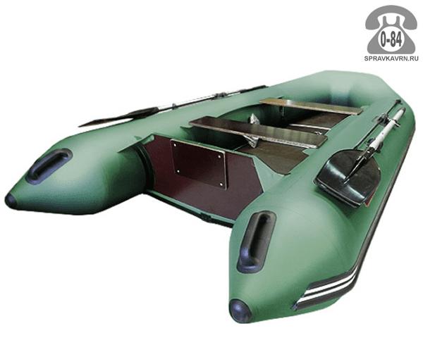 Лодка надувная Hunterboat Хантер 320 ЛК, зеленый 320092