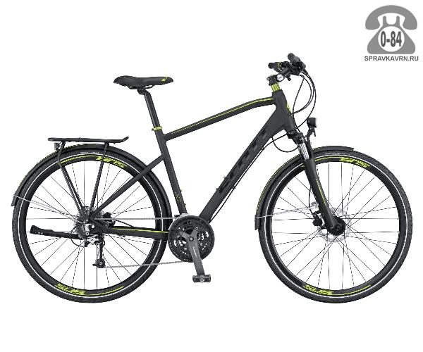 """Велосипед Скотт (Scott) SUB Sport 20 Men (2016) размер рамы 20.5"""" черный"""