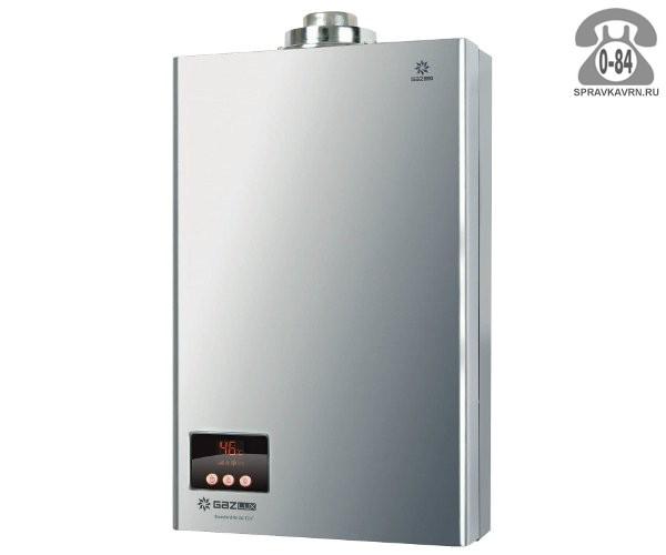 Газовая колонка Газлюкс (Gazlux) Economy W-6-C1 12 кВт 6л/мин открытая камера