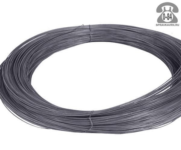 Проволока металлическая стальная 1.2 мм вязальная