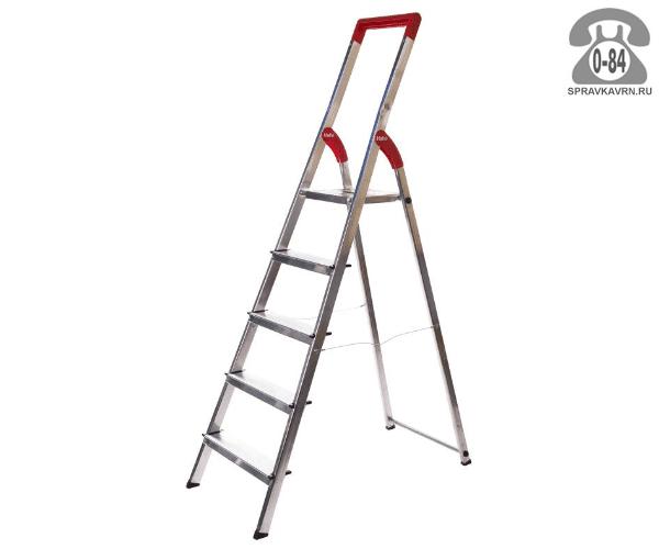 Лестница складная Хайло (Hailo) 5 алюминиевая 312 см строительная Германия