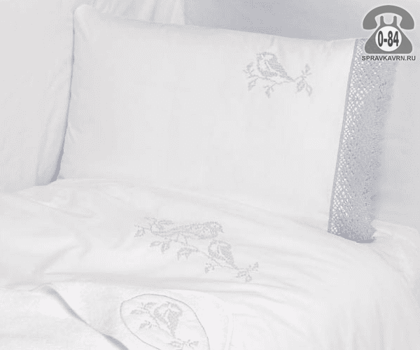 Детское постельное белье Бови (Bovi) Синички перкаль