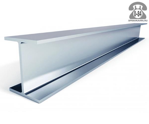 Балка металлическая двутавровая алюминиевая 18 мм 13 мм