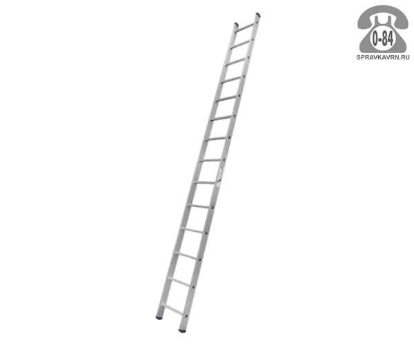 Лестница приставная Алюмет (Alumet) HS1 6114