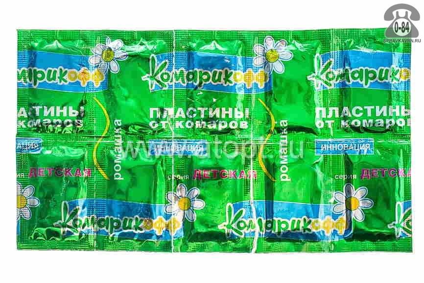Пластина для фумигатора Комарофф от комаров
