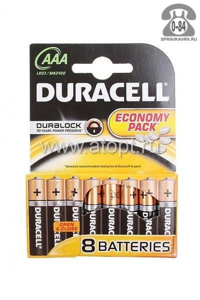 Батарейка Дюраселл ААА (LR03, R03) 18 шт.