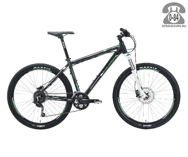 """Велосипед Сильвербэк (Silverback) SOLA 3 (2016) размер рамы 18.5"""" черный"""