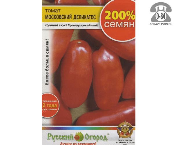 характеристика томат московский деликатес