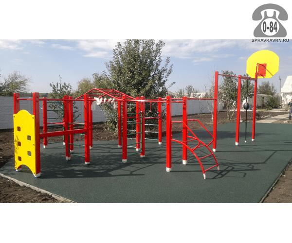 Детская открытая площадка г. Воронеж строительство