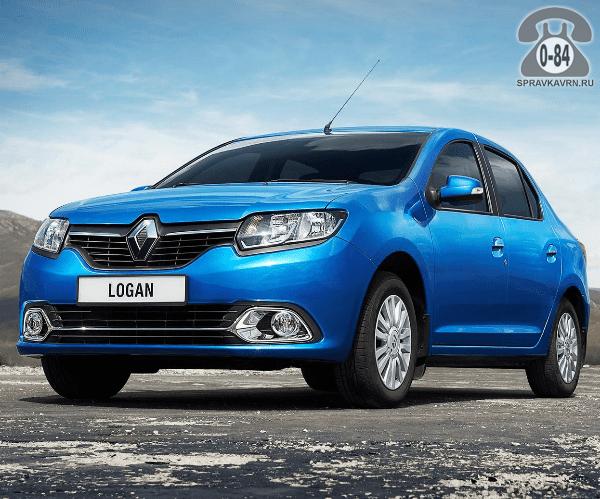 Автомобиль легковой Рено (Renault) Логан (Logan) новый (без пробега),  980кг