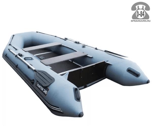 Лодка надувная Hunterboat Хантер 340, серый 340001