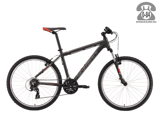 "Велосипед Сильвербэк (Silverback) STRIDE SPORT (2016), рама 20.5"", черный размер рамы 20.5"" черный"