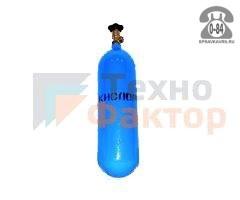Баллон для газа кислород 5 л металл