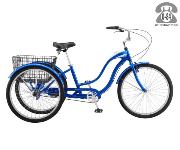 "Велосипед Швин (Schwinn) TOWN & COUNTRY (2017) размер рамы 18.5"" синий"
