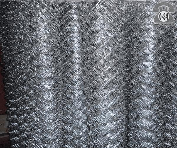 Сетка-рабица стальная (чёрная, простая) 12 мм 12 мм