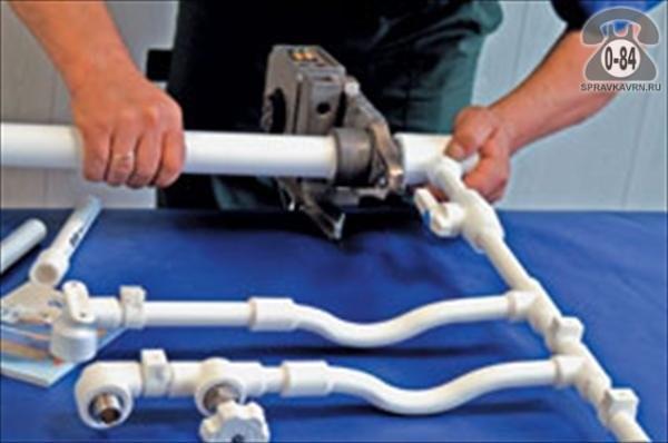Ремонт полипропиленовых труб своими руками
