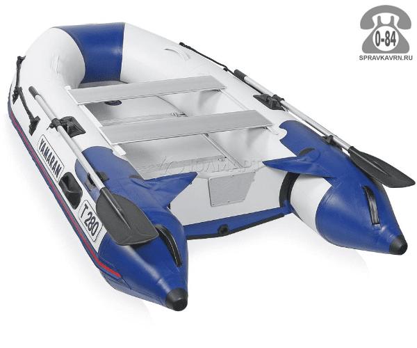 Лодка надувная Ямаран (Yamaran) Tender T280, серая